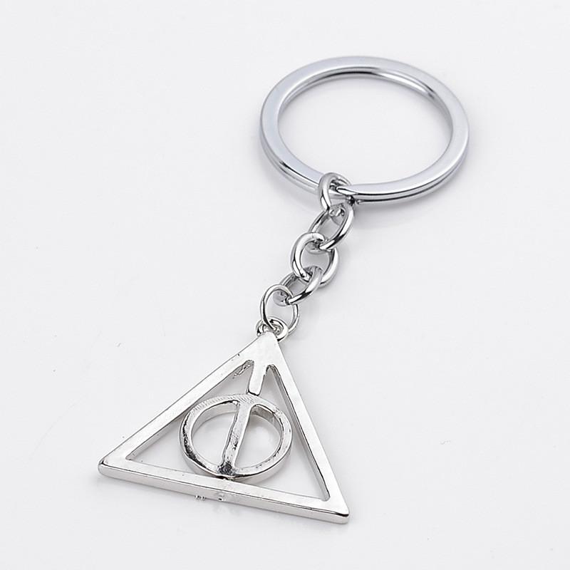 Брелок металлический Гарри Поттер Дары смерти 5см