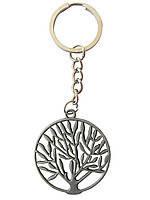 Брелок металлический Дерево