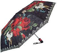 Женский автоматический зонт з цветами Magic Rain