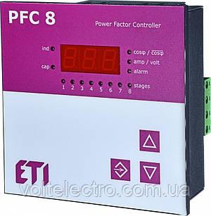 Регулятор реактивной мощности PFC-8 RS 400V AC 1-ф
