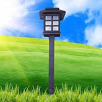 Светильник садово-парковый Lemanso CAB 81 (домик) на солнечной батарее LED белый