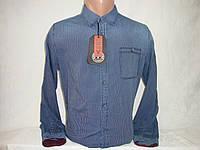 Мужская джинсовая рубашка с длинным рукавом YChromosome