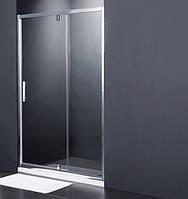 Душевая дверь Primera Frame 120x190 SDG1212 профиль хром, серое стекло