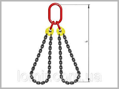 Стропы цепные замкнутые двухветвевые СЦ2ВЗ 26,5т