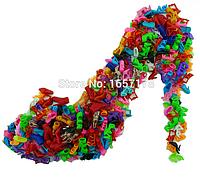 Обувь для кукол барби и подобных Набор 20 пар , фото 1