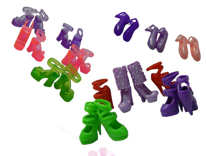 Обувь для кукол барби и подобных Набор 20 пар