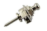 Amola Strap Locks Sliver Стреплок для гитарного ремня (Цена за 1 шт)