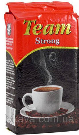 Кофе молотый Віденська кава Team Strong, 250 г, фото 2