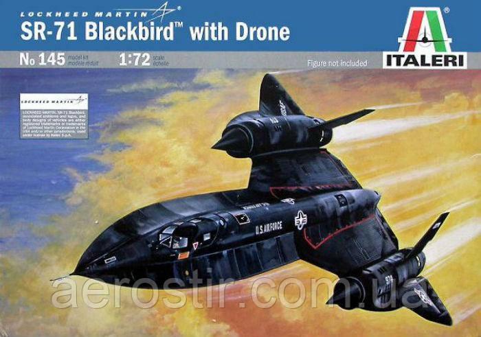 SR-71 Blackbird,1/72 Italeri 145