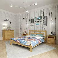 Кровать Таккас ящиками комбинированными (цвет в ассортименте) 1400*2000 - ящики 2 шт