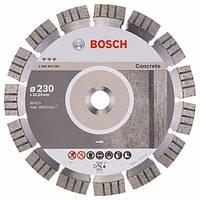 Bosch Круг алмазний відрізний Best For Concrete 230х22 бетон Код:102070   Артикул:2608602655