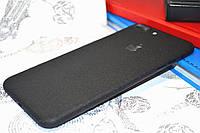 """Виниловая наклейка """"Чёрный структурный мат """" Iphone 7 PLUS (0,2 mm)"""