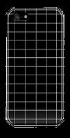 Чехол дляiphone 5 / 5s / 5se черная клетка