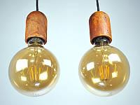 Бетонный светильник  ''БОЧОНОК'' (ржавый металл)