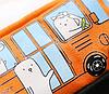 Пенал школьный Автобус оранжевый, фото 4