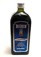Итальянское оливковое масло первого холодного отжима De Cecco 1L