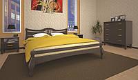 Кровать ТИС КОРОНА 1 120*190 сосна