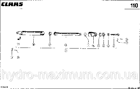 ЦИЛИНДР МОТОВИЛА, VAR. 3820 - CLAAS DOMINATOR 38