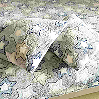 Комплект из микрофибры на полуторную кровать, звёзды