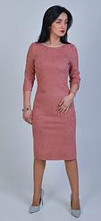"""Платье  юлия"""" из замшевой ткани"""