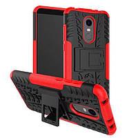 """Чехол Armor для Xiaomi Redmi 5 5.7"""" противоударный бампер красный"""