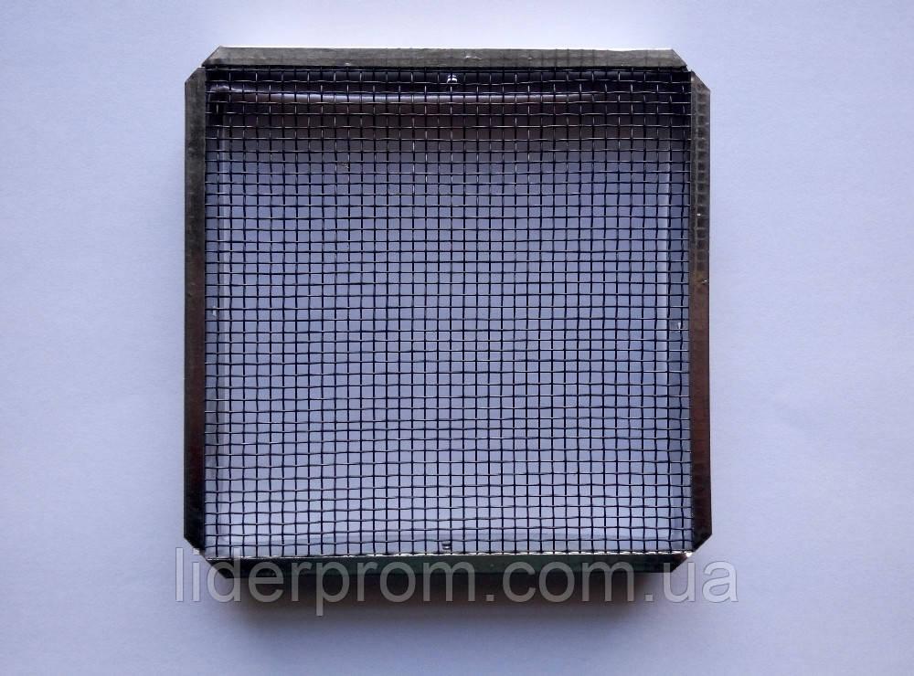 Колпачок для матки квадратный 120х120 мм (металлический)