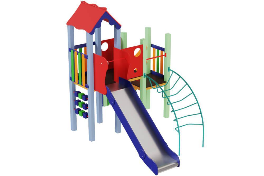 """Дитячий ігровий комплекс """"Качечка"""" вис.гірки 1,5м"""