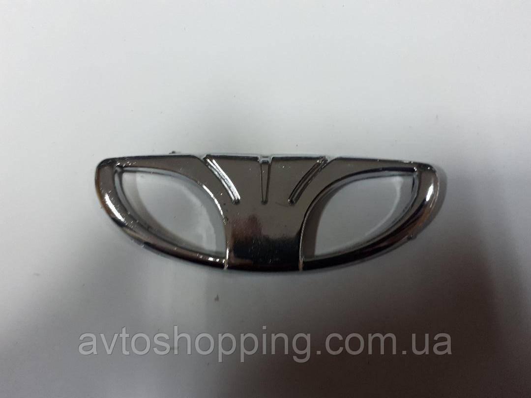Значок эмблема на капот, на багажник Daewoo Lanos (Деу Ланос) 82 мм