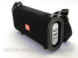 JBL T&G123, Bluetooth колонка 10W c FM MP3, реплика, черная, фото 2