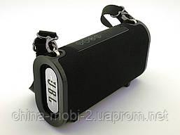 JBL T&G123, Bluetooth колонка 10W c FM MP3, реплика, черная, фото 3