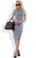 Офисное платье миди Д-1069
