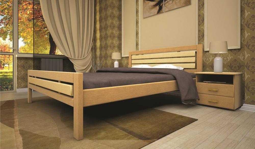 Кровать ТИС МОДЕРН 1 160*190 бук