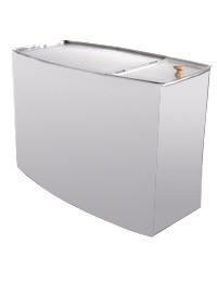 Бак для воды к теплообменнику Парус 80 для бани и сауны