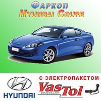 Фаркоп Hyundai Coupe (прицепное Хундай Купе)