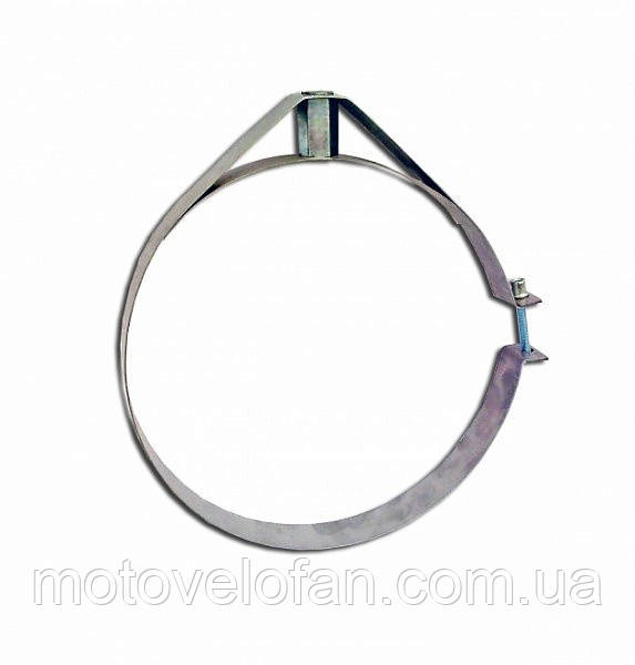 Скоба крепежная Ø220 мм из нержавеющей стали