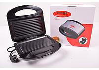 Бутербродница гриль (сэндвичница) WimpeX WX-1047, универсальный прибор гриль/сэндвичница