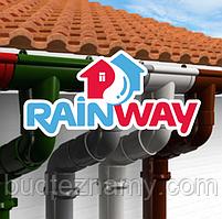 """Водостоки пластиковые (водосточные системы ПВХ) """"Rainway"""" 90 - 130 в ассортименте."""