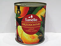 Консервированный персик Sanello 820г, фото 1