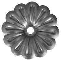 Цветок штампованный 97 мм 50.011