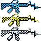 Майнкрафт автомат игрушечное оружие, фото 2