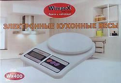 Кухонные электронные весы WIMPEX WX 400, до 7 кг