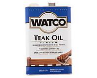 """Масло """"тиковое"""" WATCO TEAK OIL атмосферостойкое 3,78л"""