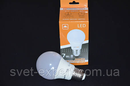 Светодиодная лампа Евросвет A-7-4200-27 7W 4200K E27 220V , фото 2