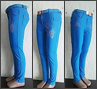 Котоновые штаны  для девочки, , фото 1