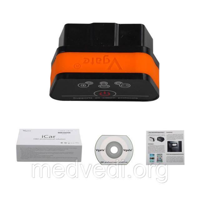 ICar2 Bluetooth OBD2 Vgate сканер диагностики авто