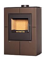 Отопительная печь-камин длительного горения FLAMINGO EVENES (коричневый бархат), фото 1