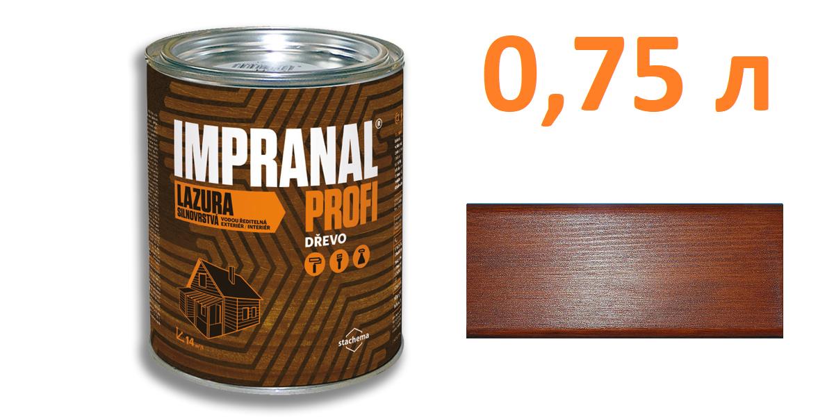 IMPRANAL PROFI Стійкий лазурний лак (Тік; 0,75 л.)