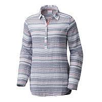 ac12b3443976d8 Женская рубашка-туника Columbia EARLY TIDES™ TUNIC UPDATE сине-красная  AL1977 591 L