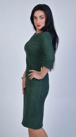 """Платье  """"юлия"""" из замшевой ткани, фото 2"""