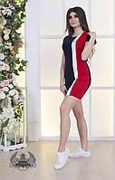 Платье женское спортивное большие размеры РО5098, фото 1